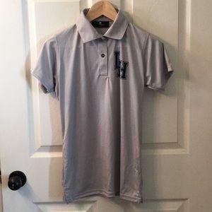 Tops - Grey Polo Shirt Women's Small
